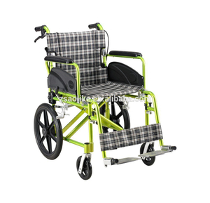 Aluminum lightweight wheelchair for halls ALK973LABJ