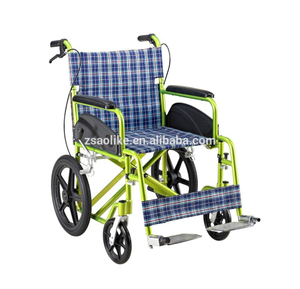 Aluminum lightweight wheelchair ALK972LBJ