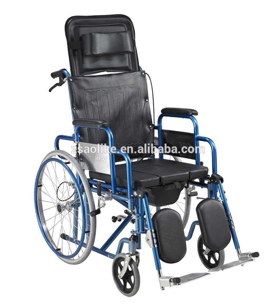 Functional commode wheelchair ALK601GC