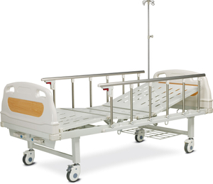 Two crank high quality and inexpensive manual hospital bed