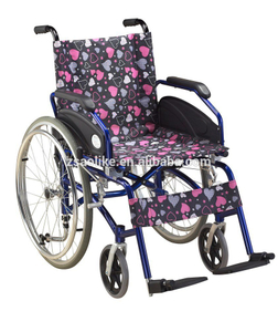 Aluminum manual wheelchair for halls ALK955LP