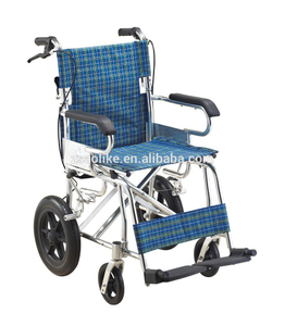 Aluminum lightweight child wheelchair for halls ALK801LAJ-12 ""