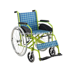 Economic Aluminum manual wheelchairs for halls ALK868LP
