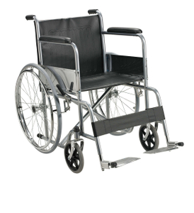 Steel foldable Economic cheapest wheelchair ALK809-46